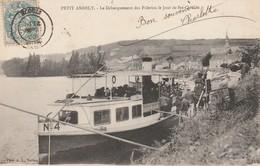 27 - LES ANDELYS - Petit Andely - Le Débarquement Des Pélerins Le Jour De Ste Clothilde - Les Andelys