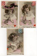 34400-ZE-FANTAISIE--ENFANT----------Lot De 5 CPA - Enfants