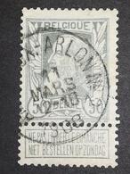 COB N ° 78 Oblitération Ambulant Bruxelles Arlon N°2 1908 - 1905 Grosse Barbe