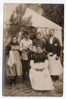 POITIERS---carte-photo De Personnages -- Cuisiniers ???  --réception Sous Tente ??? -- à  Identifier--Beau Plan - Guerre 1914-18