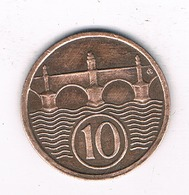 10 HALLER  1934  TSJECHOSLOWAKIJE /2425/ - Czechoslovakia