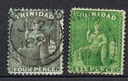 TRINITE ET TOBAGO YT 29-30 - Trinidad & Tobago (...-1961)