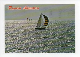 Italie: Emilia Romagna, Riviera Adriatica, Bateau à Voile (19-507) - Italie