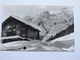 SUISSE SAAS FEE  TASCHHORN LENZ SPITZE  Ref 0251 - Suisse