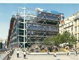 Cpsm - Paris   - Centre National D 'Art Et Culture Georges Pompidou   , Animée    AH1114 - France