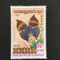 KAMPUCHEA. BUTTERFLY. 1983. MNH. C4003C - Butterflies