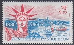 St. Pierre Et Miquelon 1986 - 100th Anniversary Of Statue Of Liberty - Mi 539 ** MNH - Monuments