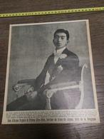 AN 20/30 SON ALTESSE ROYALE LE PRINCE HIRO HITO TRONE DU JAPON EN BELGIQUE - Vieux Papiers
