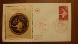 Premier Jour  FDC..  LA  CROIX  ROUGE  Et  La  POSTE  ..1968  TROYES - Other