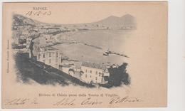 NAPOLI, Riviera Di Chiaia,  Ediz. F.lli Bocconi   - F.p. - Fine '1800 - Napoli