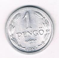 1 PENGO 1944  HONGARIJE /2430/ - Hongrie