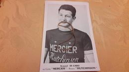 Armand Di Caro Mercier Hutchinson Carte Originale - Cyclisme