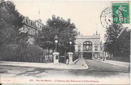 AIX-les-BAINS : L'Avenue Des Fleurs Et La Villa Victoria - Aix Les Bains