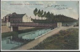GOUY-lez-PIETON - Le Canal Et Le Pont De Gouy (Courcelles) - Courcelles