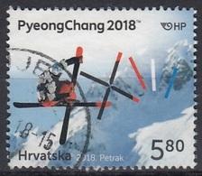 CROATIA 1124,used - Hiver 2018 : Pyeongchang