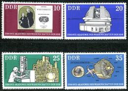 DDR - Mi 2061 / 2064 - ** Postfrisch (A) - 275 Jahre Akademie Der Wissenschaften - DDR