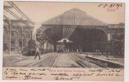 NAPOLI, Interno Stazione Ferroviaria  - F.p. - Fine '1800 - Napoli