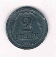 2 FILLER 1943  HONGARIJE /2431/ - Hongrie