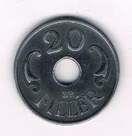 20 FILLER 1941  HONGARIJE /2433/ - Hongrie