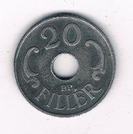20 FILLER 1943  HONGARIJE /2434/ - Hongrie