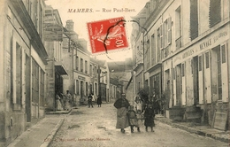 "Mamers - Rue Paul Bert - "" Hôtel De L'Ecu ROBION MALARD "" - Belle Animation - Mamers"