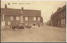 Herseaux - Grand'Place Et Grand'Rue 1946 - Mouscron - Moeskroen