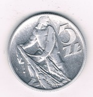 5 ZLOTY 1959 POLEN  /2437/ - Pologne