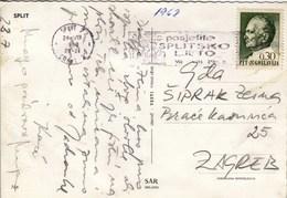 Croatia Split 1968 / Splitsko Ljeto, Split Summer / Machine Stamp, Flam - Croatie