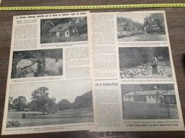 AN 20/30 POULES STATION D ELEVAGE INSTALLEE PAR LA REINE AU DOMAINE ROYAL DE LAEKEN - Vieux Papiers