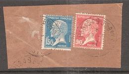 Perforé/perfin/lochung France No 181 + No 178  BP Banque De Paris Et Des Pays Bas 143 Sur Le 1F50 Et 147 Sur Le 90 Cts - France