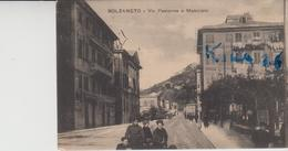 Bolzaneto Genova Via Pastorino E Municipio Animata - Otras Ciudades