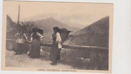 CARNIA, Friuli , Costumi Donne Con Gerle - F.p. - Anni '1910 - Other Cities
