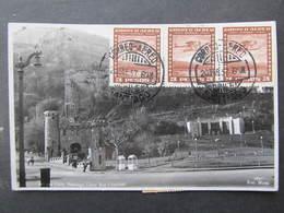 AK SANTIAGO Cerro San Cristobal Chile 1937 //  D*37258 - Chili
