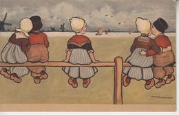 Illustrateur Ethel PARKINSON - 3 Cartes - Enfants Moulin Oie   PRIX FIXE - Parkinson, Ethel