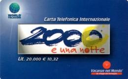 *ITALIA - WORLD TELECOM* - Scheda Usata - Italia