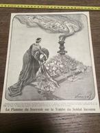 AN 20/30 LA FLAMME DU SOUVENIR SUR LA TOMBE DU SOLDAT INCONNU - Vieux Papiers