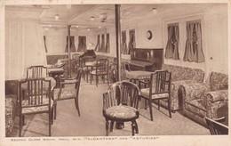 SECOND CLASS SOCIAL HALL VESSEL ALCANTARA. ROYAL MAIL. CIRCA 1915 - BLEUP - Voiliers