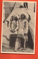 TRY-41 Real Sioux Indians From Pine Ridge. . Peaux-Rouges. Brussels 1935 - Indiens De L'Amerique Du Nord