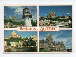 Canada: Quebec, Multi Vues, Phare (19-520) - Québec - La Citadelle