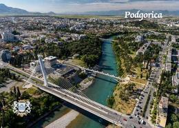 Montenegro Podgorica Aerial View New Postcard - Montenegro