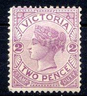 VICTORIA - (Colonie Britannique) - 1884-86 - N° 92 - 2 P. Violet - (Victoria) - 1850-1912 Victoria