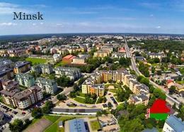 Belarus Minsk Aerial View New Postcard Weißrussland AK - Belarus