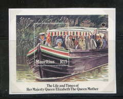 Mauritius (Maurice) 1985 85th Birthday Queen Mother MS Miniature MNH - Maurice (1968-...)