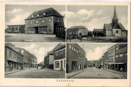CPA ALLEMAGNE - PALENBERG -  Bahnhof -  Korr's Ansichtskarten Grobvertr., Höchst A M.,Hospitalstr. 15 - Übach-Palenberg