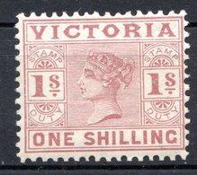 VICTORIA - (Colonie Britannique) - 1886-88 - N° 98 - 1 S. Rouge Carminé - (Victoria) - 1850-1912 Victoria
