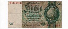 Allemagne - 50 Mark - 30.03.1933   *Verzamelcentrum Te . . . . . .  Monetaire Agent * - [ 3] 1918-1933: Weimarrepubliek