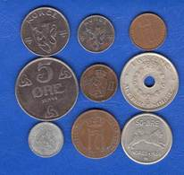 Norvège  Ore  1877  + 8 Pieces - Norvège