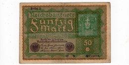 Allemagne - 50 Mark - 24.06.1919 - [ 3] 1918-1933: Weimarrepubliek
