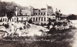 MILOT. HAITI. SANS SOUCI PALACE. CIRCA 1940s - BLEUP - Haïti