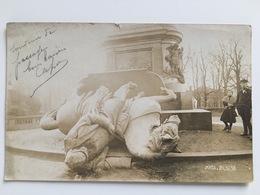 Photo Kaiser Wilhelm Statue Metz - Guerre 1914-18